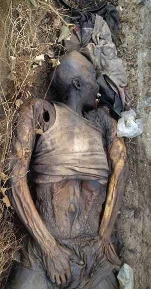 Horror! Man's Decomposing Body Found Inside Drainage Along Popular Bypass In Calabar (Photos)